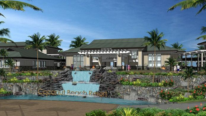 This Rendering Shows The Coconut Beach Resort Which A Developer Plans To Build