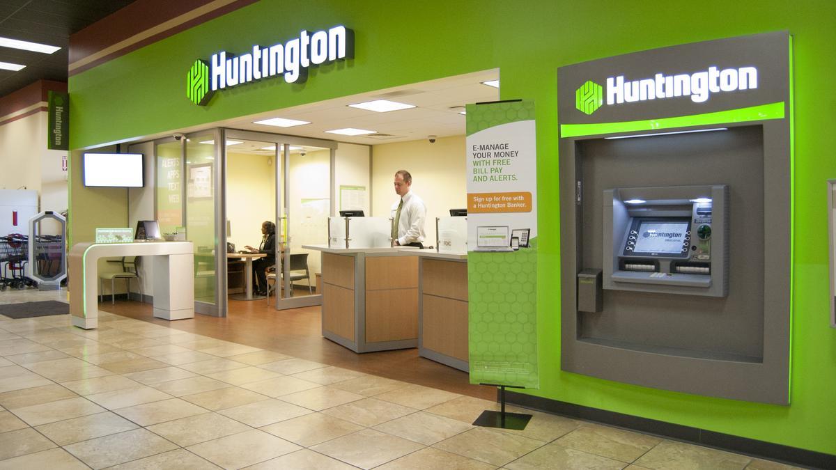 huntington bank atm network