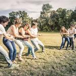 Bham companies team up for field day event