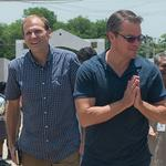 VIDEO: Water.org CEO, <strong>Matt</strong> <strong>Damon</strong> pump up awareness of water access issues