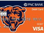 PNC Bank launching major ad campaign to introduce Chicago Bears-branded debit card (Video)
