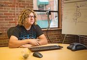 Alex Markson of No Inc. says broadband options available to a company like his hurt productivity.