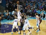 Charlotte Hornets even up series in NBA playoffs (PHOTOS)
