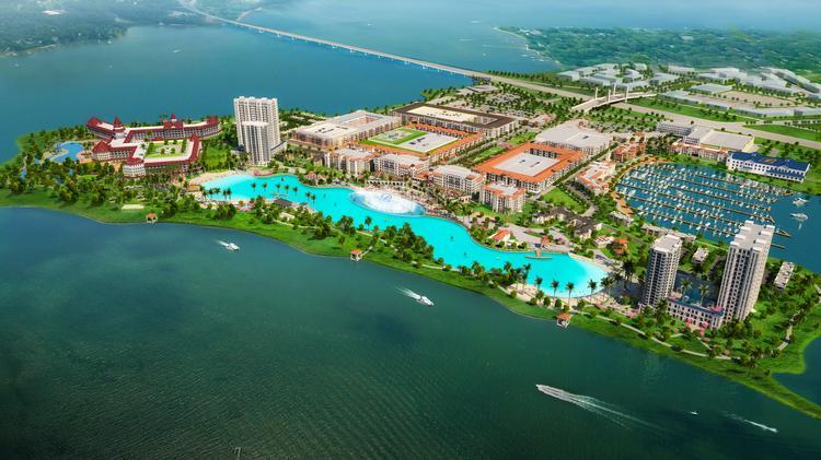 Crystal Lagoon idea for Rowlett's $1 billion Bayside project won't