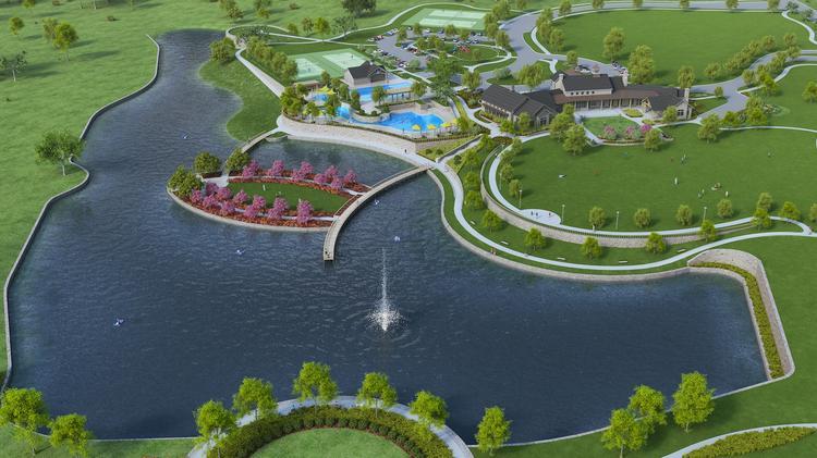 developer underway on  1 1b master-planned community in celina