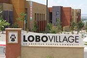 Lobo Village on south campus