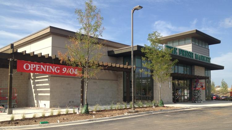 In August  discount home furnishings store HomeGoods is scheduled to open  in the 24 000. HomeGoods will fill retail void at Prairefire development   Kansas