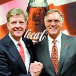 Coca-Cola United executives earn prestigious award