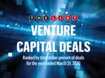 The List: Venture Capital Deals