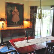Many of the antiques used in Trinity Professor Richard Reed, Ph.D.'s home were salvaged from junk yards.