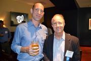 Stu Trevelyan, left, of NGP VAN, and Rick Schneider of Cherry Bekaert LLP.