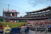 View from the Lexus Presidents Club for guests of the Washington Business Journal's Fastest Growing Companies pre-event.