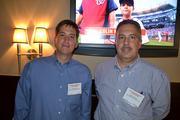 Brett Givens, left, and Ralph Gronlund, both of Alex-Alternative Experts LLC.