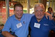 John Collins, left, of VetsAmerica Business Consulting Inc., and Joe Swick of Kingfisher Systems Inc.