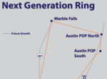 Internet service provider invests in fiber ring for commercial clients stretching from Austin to Mexico