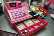 Tasty Stacy's toy cash register