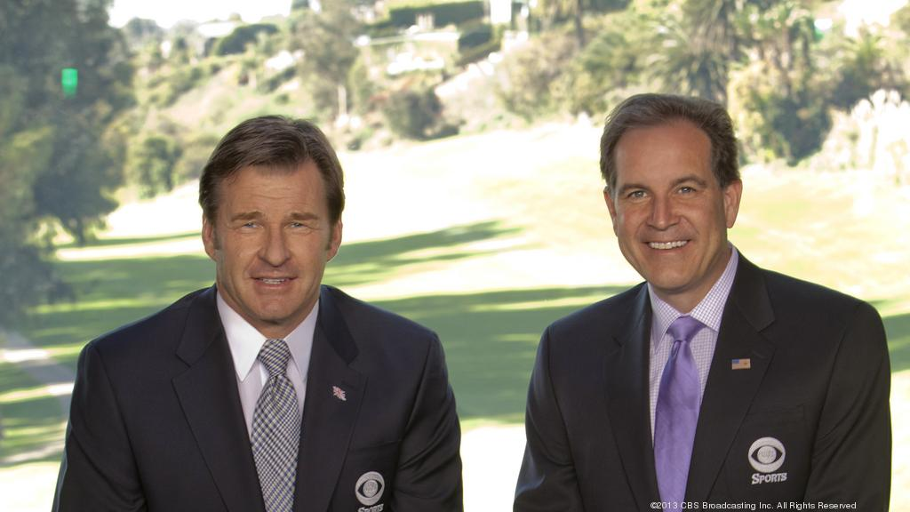 Catching up with CBS announcer Jim Nantz during the Wells Fargo Championship - Charlotte Business Journal