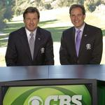 Catching up with CBS announcer Jim Nantz during the Wells Fargo Championship