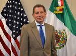 The new executive at the Arizona-Mexico Commission has feet in both countries