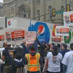 Council members join soda tax opponents in rally outside City Hall