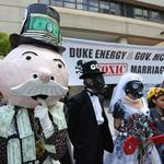 Duke Energy replacing in-person shareholder meetings with online event; critic questions motive