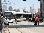 KC streetcar derails, stalls service for hours
