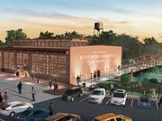 The new brewery will be near the Natty Greene's Kitchen + Market depicted here that is scheduled to open in a few weeks.
