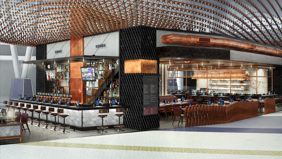 United Unveils New Terminal C North With Restaurants By