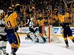 In Game 3 against Chicago, victorious Preds make history