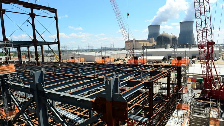Plant Vogtle, May 2016