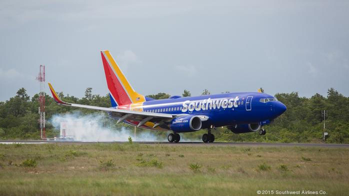 Southwest Airlines adds new flight destination from Boston