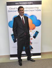 Amjad Shamim, CEO/co-founder, AAJ Technologies