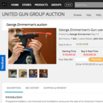 Local company auctions gun that killed Trayvon Martin
