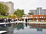 Presidential City marks construction milestone with pool opening