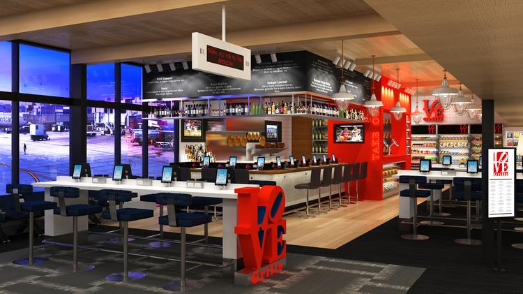 Phl Airport S 30m Project Adds 8 Restaurants Ipads To