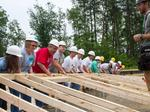 Bankers help build home for Greensboro family