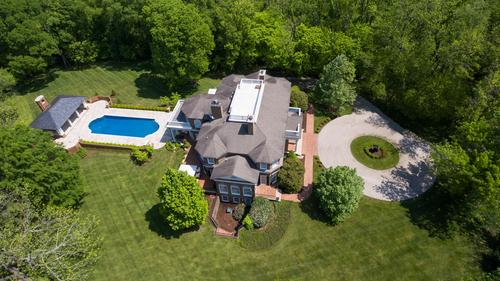 Magnificent Glenview estate inspired by Thomas Jefferson's Monticello