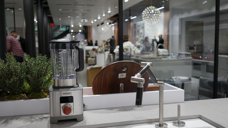 A Blender For Sale Inside A Pirch Store. Its 21,000 Square Foot Austin