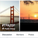 Tampa International Airport using Facebook to get to San Francisco