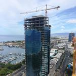 Howard Hughes' first Honolulu tower in Ward Village tops off