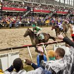 Here's who the Maryland Department of Commerce hosted at the Preakness
