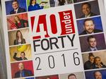 Photos from DBJ's 2016 Forty Under 40 Awards