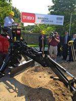 Toro breaks ground on $25 million expansion