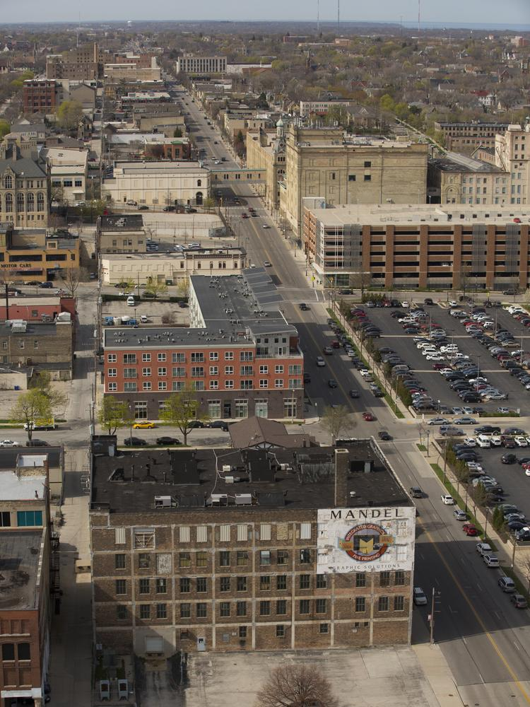 North Dr. Martin Luther King Jr. Drive in Milwaukee is among the main streets that would be part of the Brew City Match program.