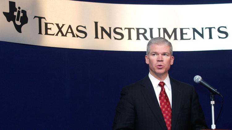 Texas Instruments' new CEO is trying to put the resignation
