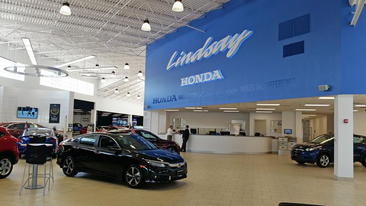 Lindsay Honda Operates From A 189,000 Square Foot Dealership At 5959  Scarborough Blvd.