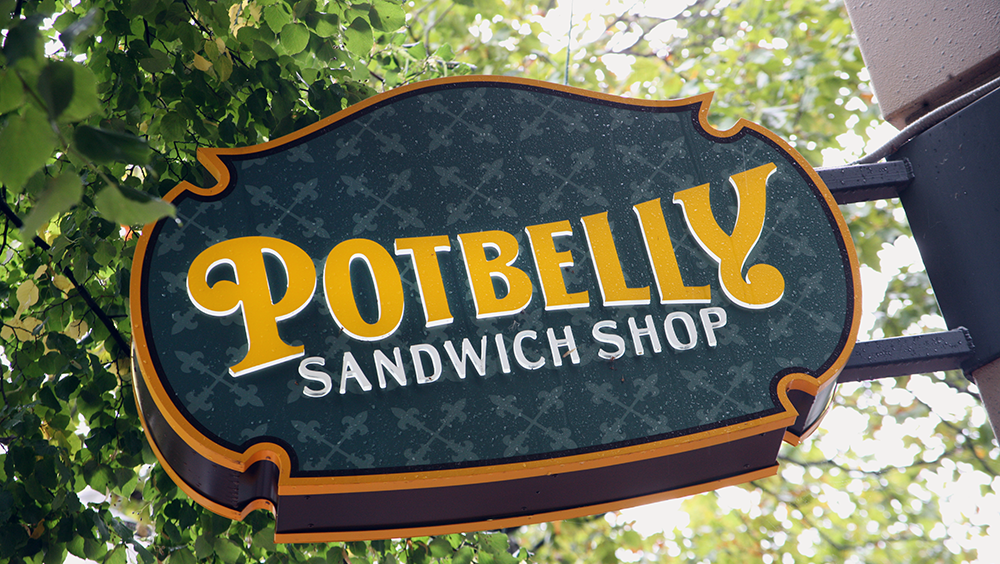 Potbelly Logo potbelly sandwich shop opening first n.c. location in greensboro
