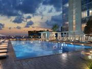 The pool at Property Markets Group's apartment project at 243 N.E. 3rd Street in Miami.