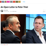 Gawker's <strong>Denton</strong> takes on Thiel, tech's 'billionaire class' (Video)