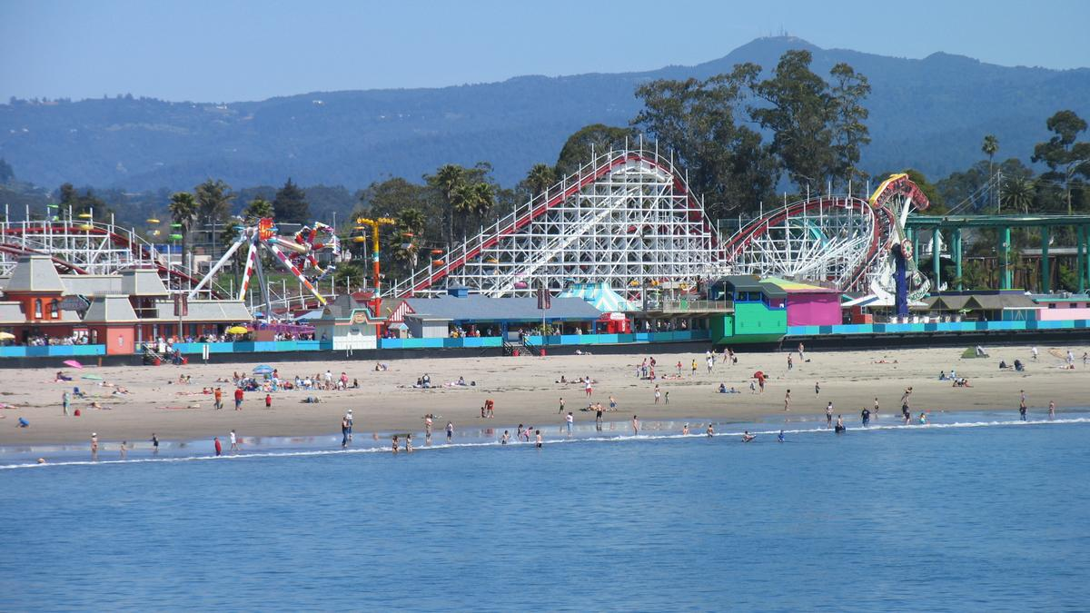 Santa Cruz Beach Boardwalk Tops Usa